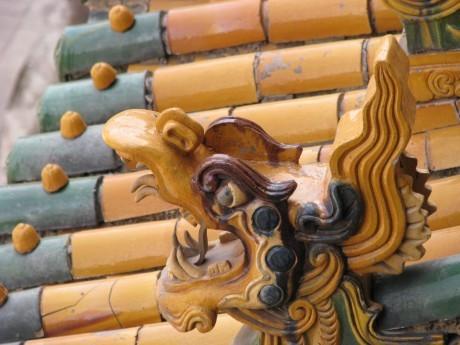 Datong - wiszące klasztory igroty Yungang 7