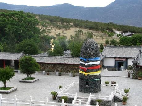 Lijiang - Baisha - rower - góry 23