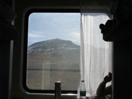 W pociągu doLhasy (Lasa) 6