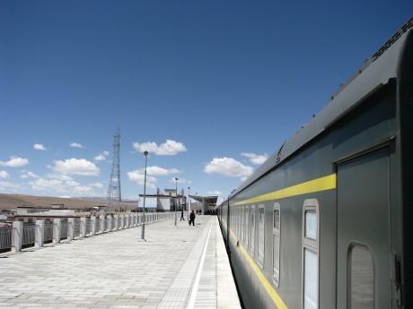 W pociągu doLhasy (Lasa) 14