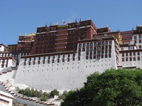 Na dachu świata - Tybet - Lhasa - pierwsze wrażenie