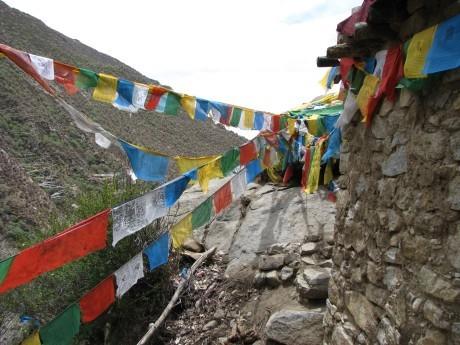 Tybet - Chimphu (Chim-puk) - miejsce domedytacji 12