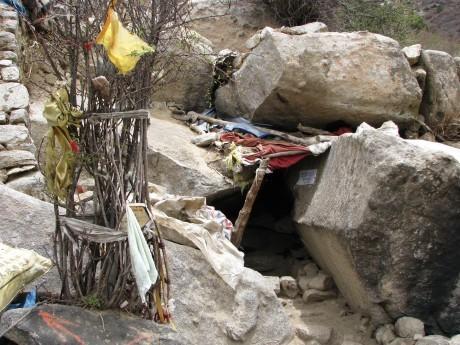 Tybet - Chimphu (Chim-puk) - miejsce domedytacji 17