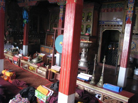 Tybet - Chimphu (Chim-puk) - miejsce domedytacji 22
