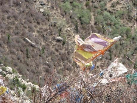 Tybet - Chimphu (Chim-puk) - miejsce domedytacji 28