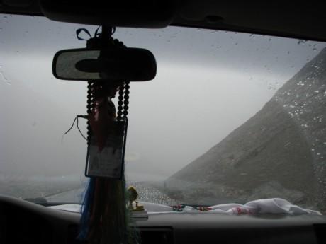 Przez góry (wTybecie) Tsetang - jezioro Yamdrok - Gyantse 25