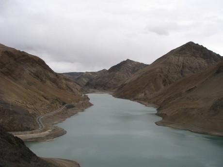 Przez góry (wTybecie) Tsetang - jezioro Yamdrok - Gyantse 28