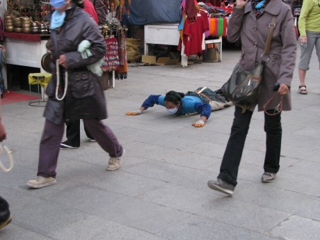 Tybet - Lhasa - Festiwal Saga Dawa 3