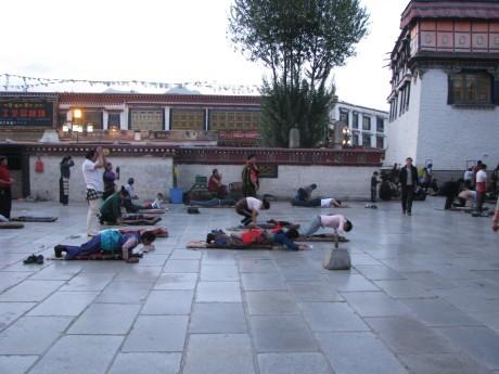 Tybet - Lhasa - Festiwal Saga Dawa 4