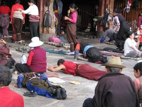 Tybet - Lhasa - Festiwal Saga Dawa 8