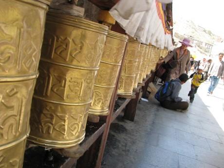 Tybet - Lhasa - Festiwal Saga Dawa 10