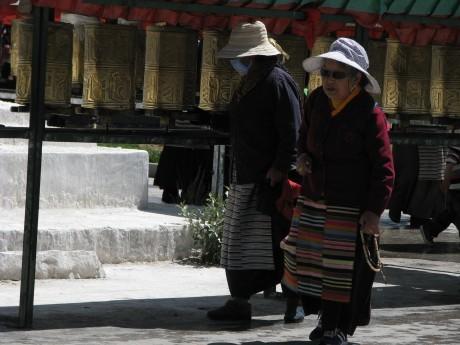 Tybet - Lhasa - Festiwal Saga Dawa 14