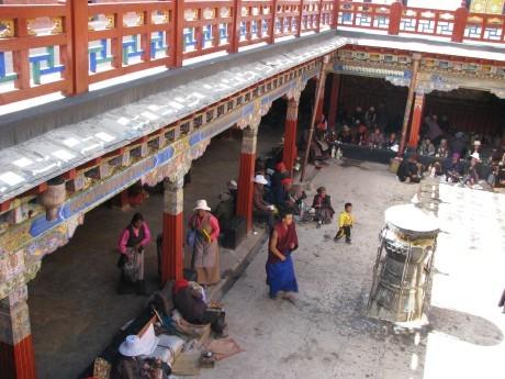 Tybet - Lhasa - Festiwal Saga Dawa 17
