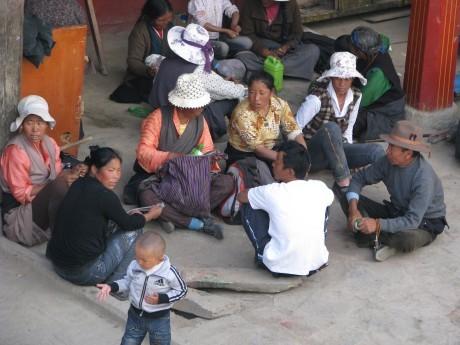Tybet - Lhasa - Festiwal Saga Dawa 20
