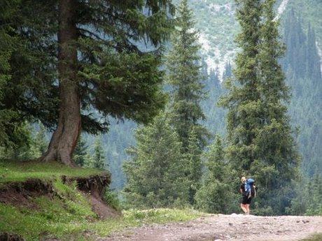 Treking wgórach Tien Shan (Kirgistan) 2