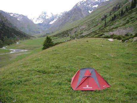 Treking wgórach Tien Shan (Kirgistan) 6