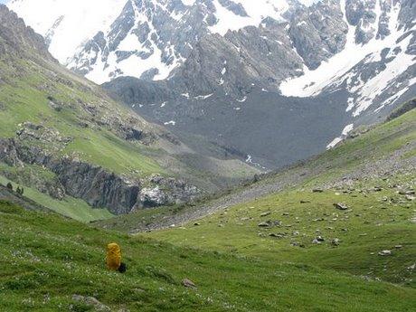 Treking wgórach Tien Shan (Kirgistan) 13