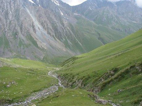 Treking wgórach Tien Shan (Kirgistan) 16