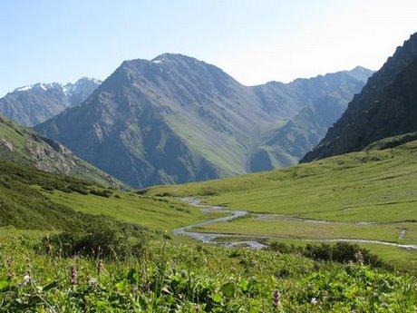 Treking wgórach Tien Shan (Kirgistan) 25