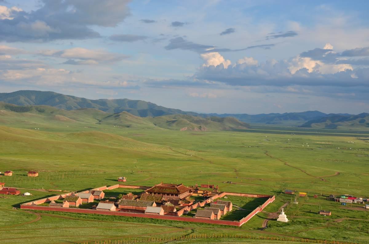 Bezdroża Mongolii - slajdowisko 1