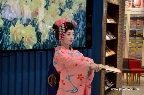 Piękna Japonia - taniec gejszy 1