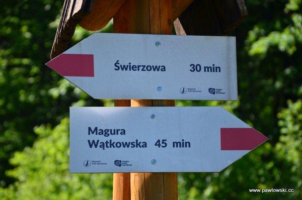 Główny Szlak Beskidzki; Bacówka PTTK wBartnem - Chyrowa (Hyrowa) 9