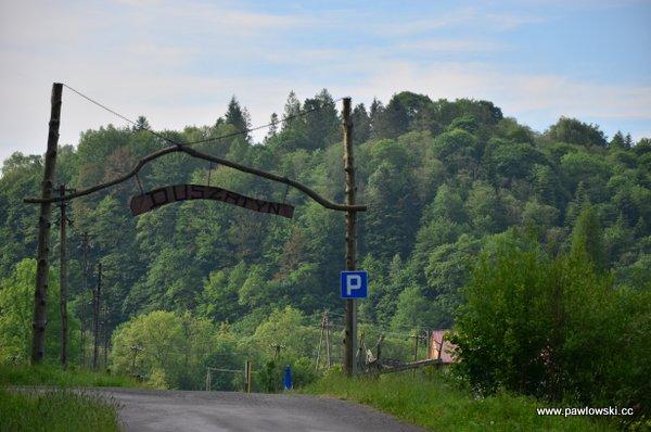 Główny Szlak Beskidzki; Prełuki - Cisna (Bacówka PTTK podHonem) 8