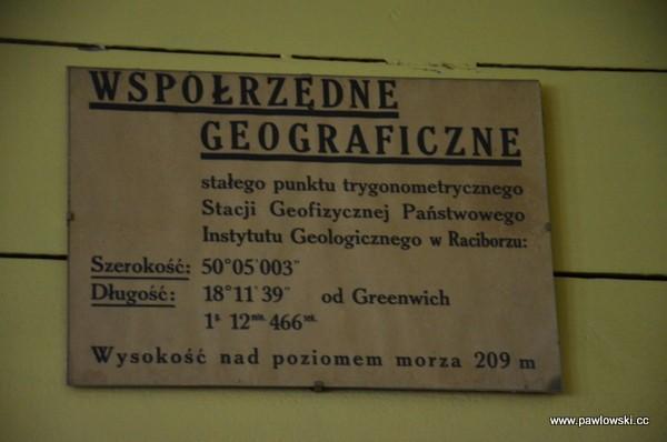 Najstarsza stacja sejsmologiczna wPolsce