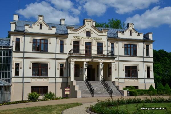 Pałac Tyszkiewiczów wKretyndze iPołądze