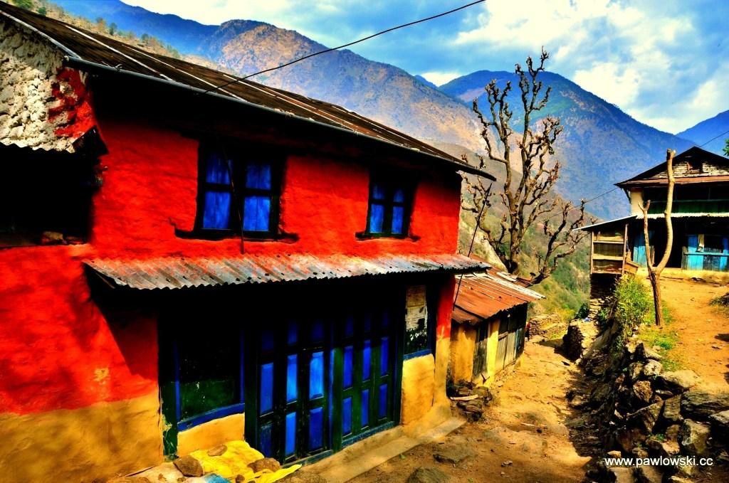 Wszystkie kolory Nepalu.