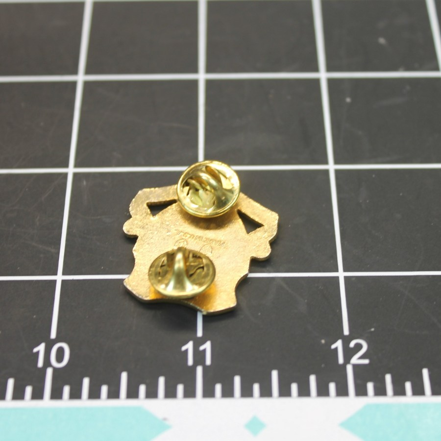 Vintage Honor, Fidelity, Courage Armor Army Brass Crest Pin ONE ONLY-NO LONGER MADE 2