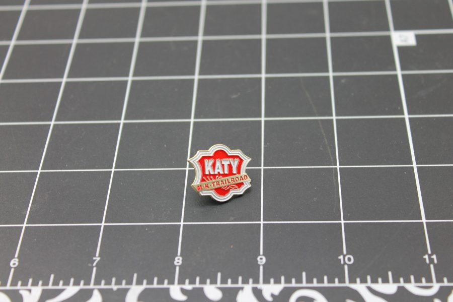 BRAND NEW Railroad Train M-K-T Katy Lines Enameled Lapel Pin 1