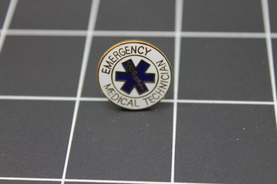 Brand-New EMERGENCY MEDICAL TECHNICIAN Enameled Lapel Pin Lifetime Guarantee 1