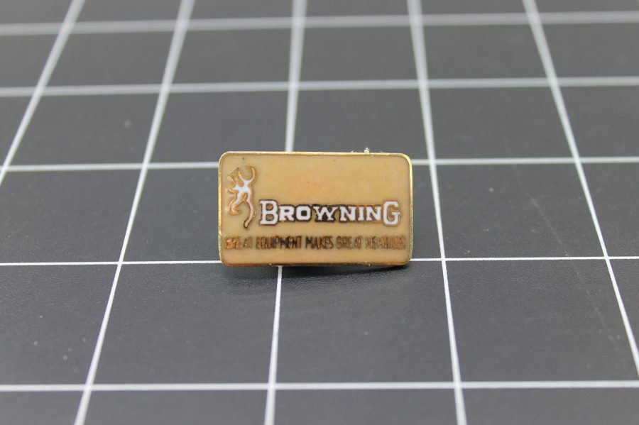Brand New Lapel Pin BROWNING LIFETIME GUARANTEE ENAMELED 1