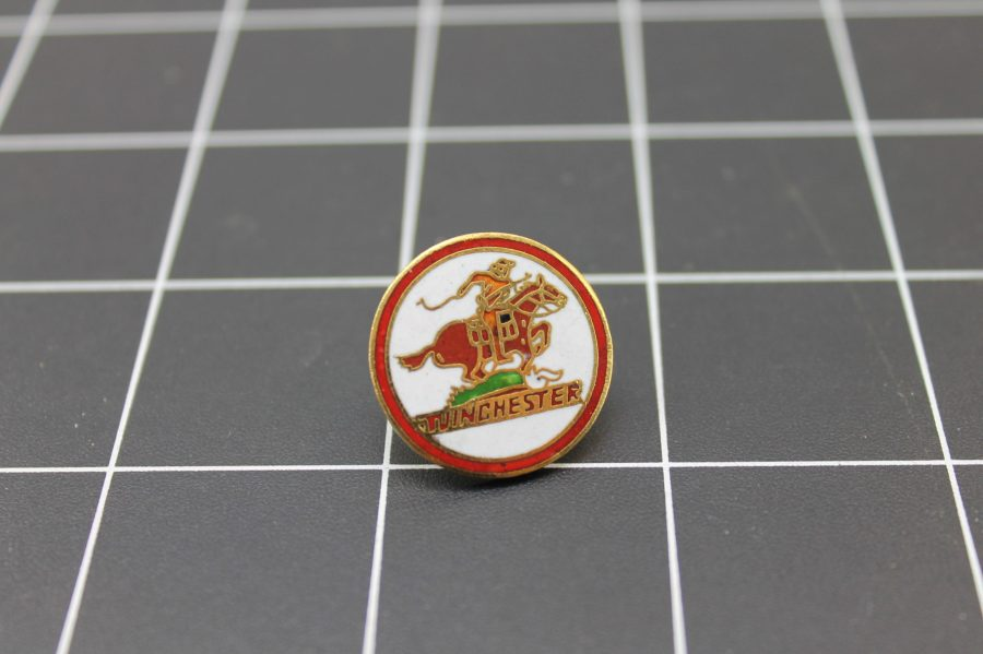 Brand New Lapel Pin WINCHESTER LIFETIME GUARANTEE ENAMELED 1