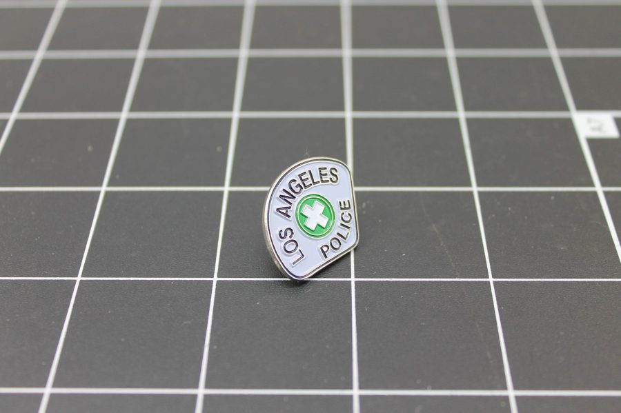 Brand-New Policeman LOS ANGELES POLICE DEPARTMENT  Enameled Lapel Pin Lifetime Guarantee 2