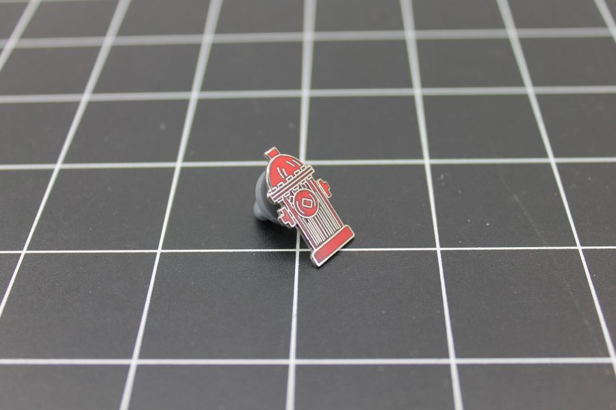Brand-New FIRE DEPARTMENT FIRE HYDRANT Fireman Enameled Lapel Pin Lifetime Guarantee 2