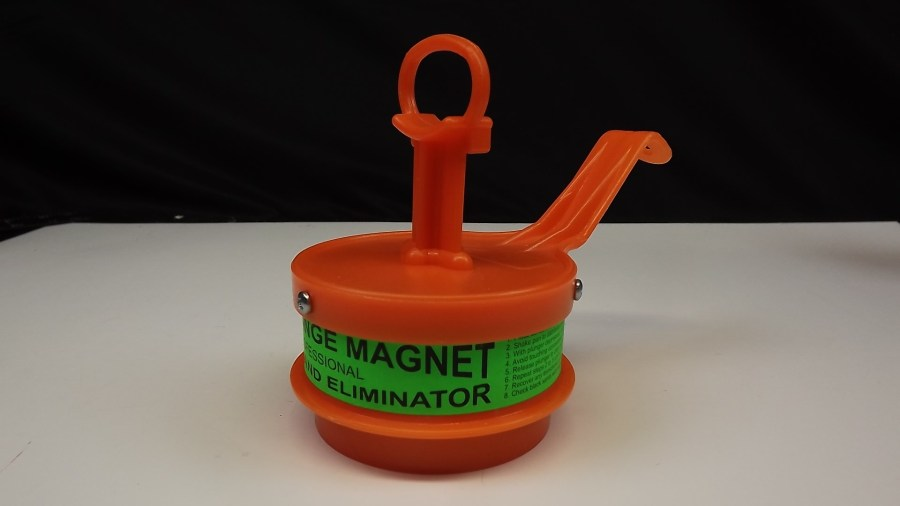 """""""BIG ORANGE MAGNET""""  DREDGE DRYWASHERS PANNERS MINERS BRAND NEW WET OR DRY GOLD A&B PROSPECTING SUPPLIES 1"""