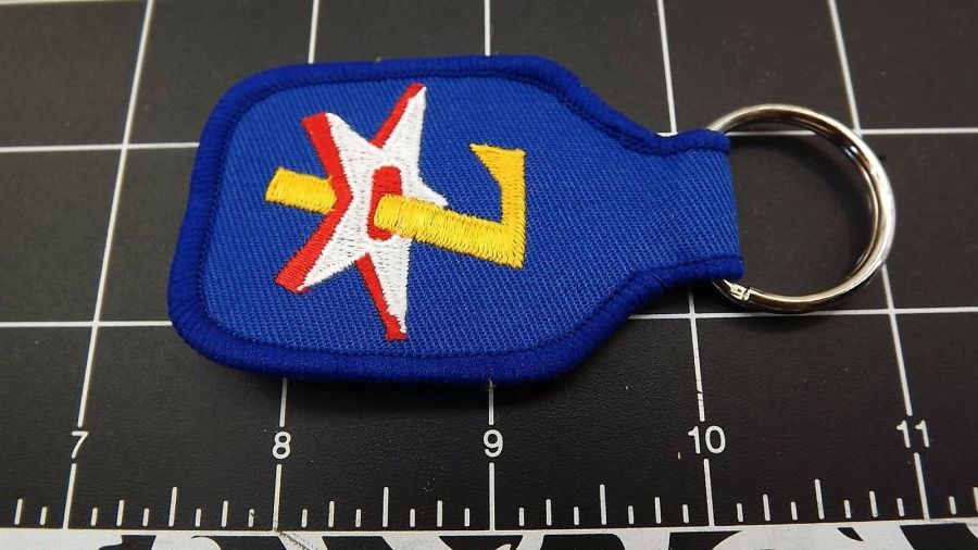 United States AIRFORCE USAF 7TH Division Embroidered Keychain 3