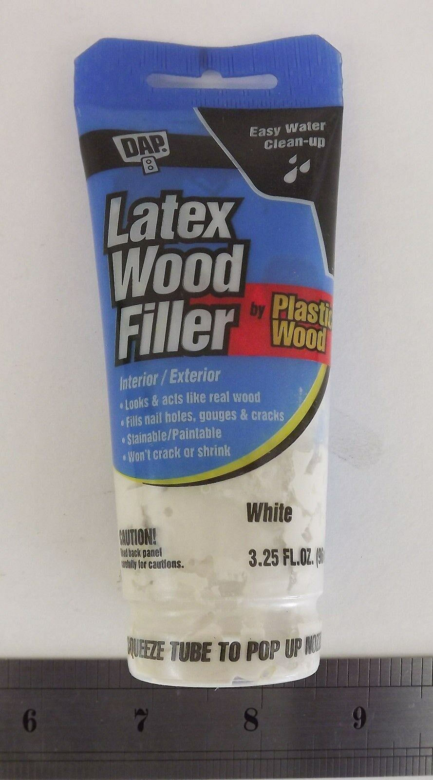 New Latex Wood Filler by Plastic Wood 3.25 FL.OZ. Color: White 1