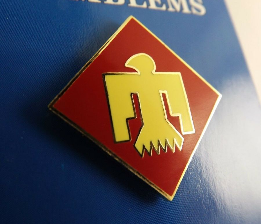 """BRAND NEW Lapel Pin United States Army 045TH Infantry Division Enamel 1"""" 1"""