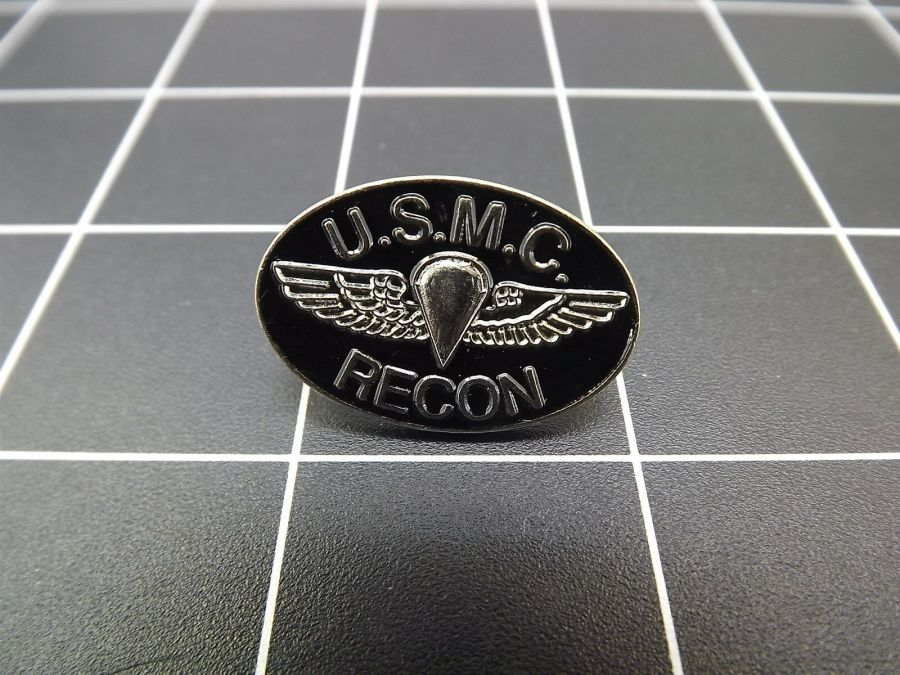 CLOSEOUT! BRAND NEW Lapel Pin U.S.M.C. RECON MARINE CORPS 1