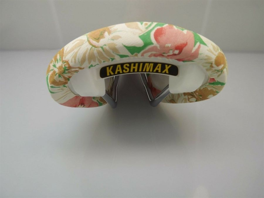 KASHIMAX AERO BMX Seat AX2A FLOWER SADDLE Old School BMX Seat-BRAND NEW 4
