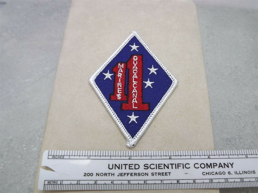 MARINE CORPS USMC GUADALCANAL 1ST MARINES 1ST DIVISION PATCH BRAND NEW 3