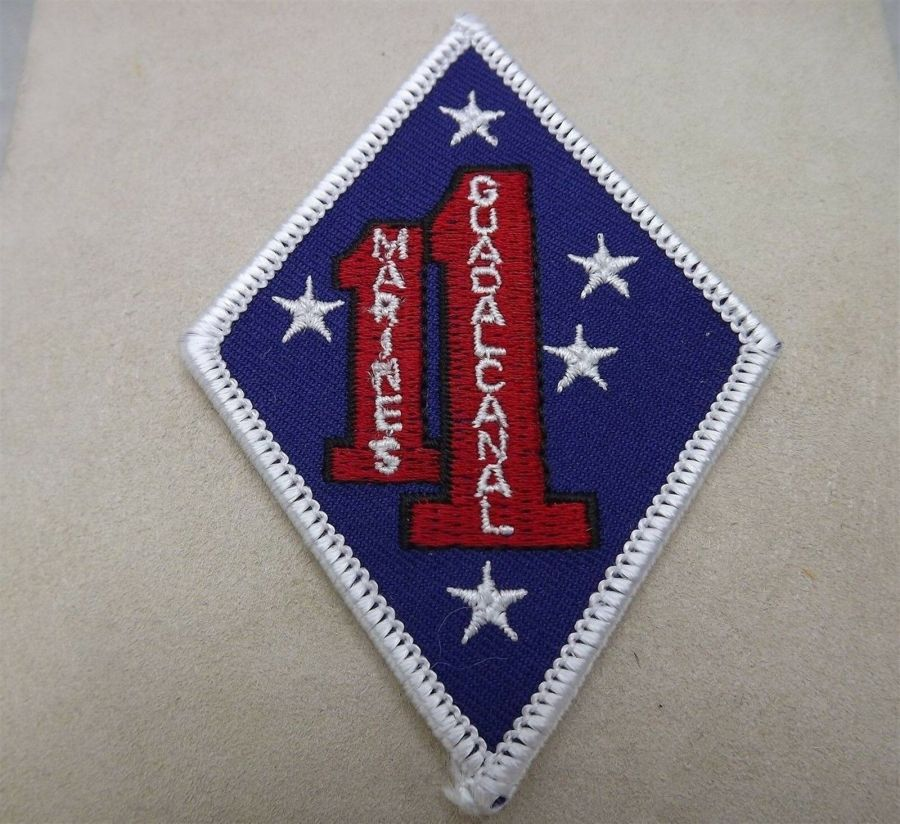 MARINE CORPS USMC GUADALCANAL 1ST MARINES 1ST DIVISION PATCH BRAND NEW 1