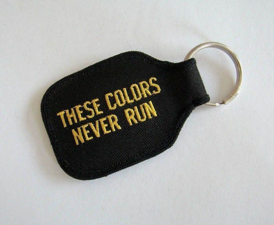 US Marines USMC These Colors Never Run Keychain NEW 3