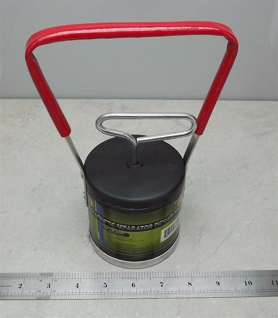 GOLD BLACK SAND SEPARATOR PICK-UP TOOL NEW 16 LBS QUICK RELEASE panning pan NEW 3