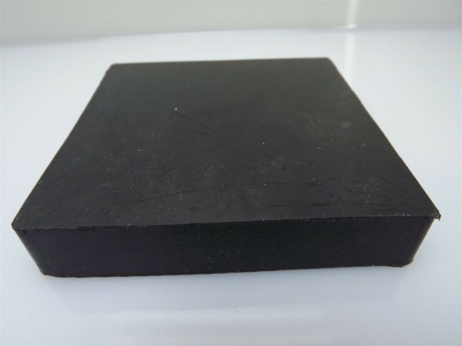 """New Jewelers Rubber Bench Block Forming 4"""" X 4"""" X 3/4'' Goldsmith Silversmith 5"""