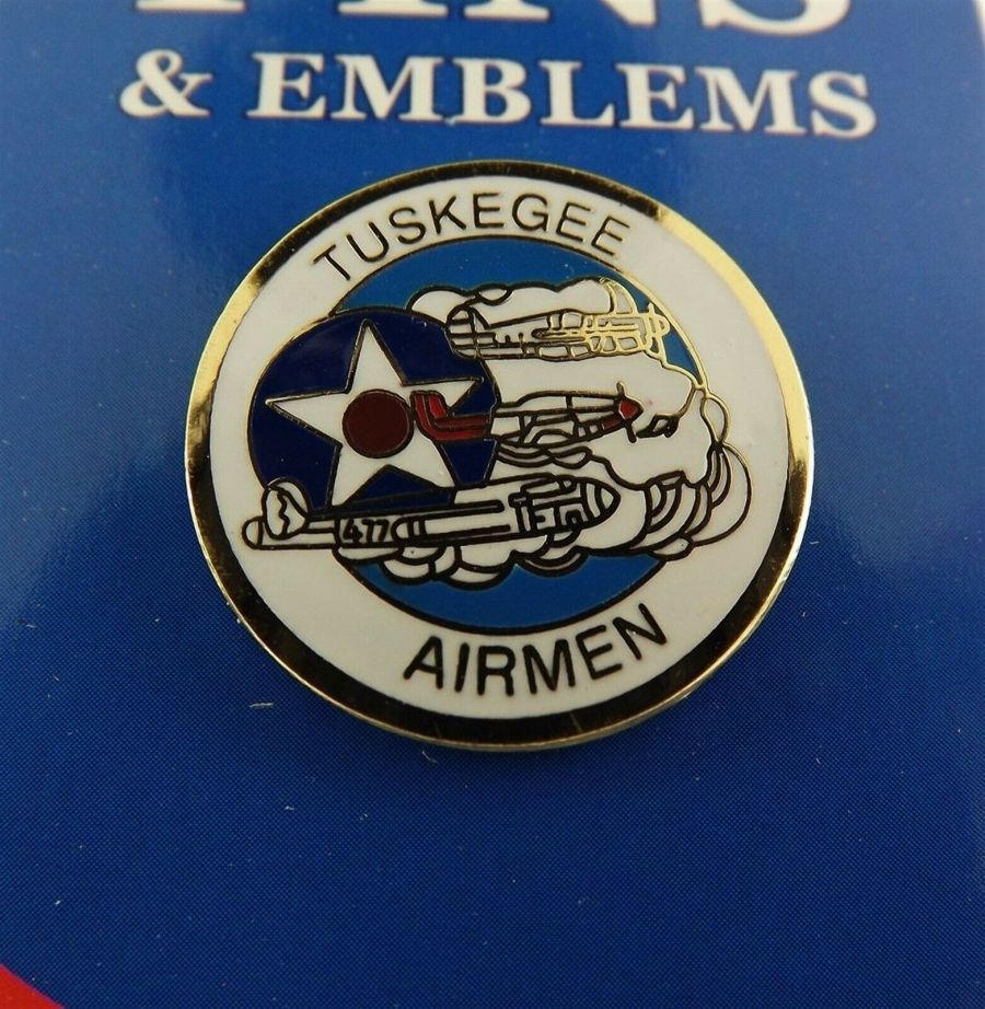 """BRAND NEW Lapel Pin United States Air Force Tuskegee Airmen Enamel 1"""" 1"""