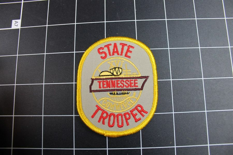 """""""TENNESSEE"""" STATE TROOPER PATCH BRAND NEW 3"""